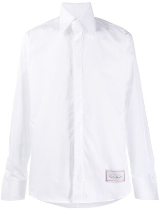 Karl Lagerfeld Paris oversized collar modern fit shirt