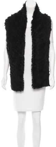 Marc By Marc Jacobs Marc by Marc Jacobs Asymmetrical Fur Vest