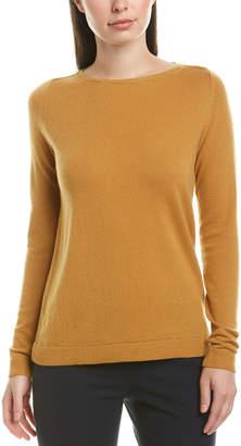 Lafayette 148 New York Lurex-Trim Cashmere Sweater