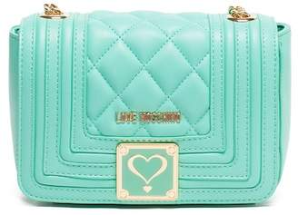 Love Moschino Mint Quilted Shoulder Bag
