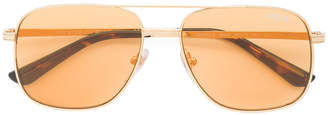 Vogue gold-tone aviators