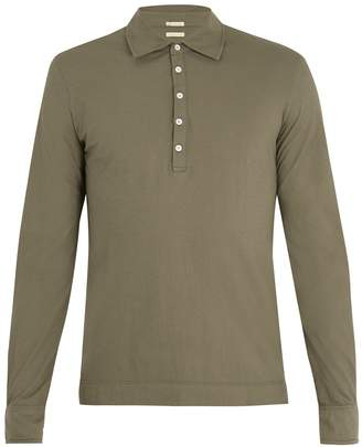 Massimo Alba Long-sleeved polo shirt