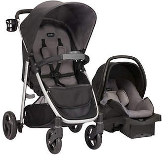 At The Bay Evenflo Two Piece FlipSide Travel System Stroller LiteMax Car Seat Set