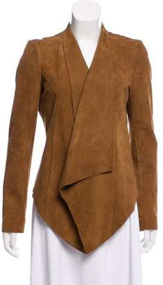 MICHAEL Michael Kors Suede Long Sleeve Jacket