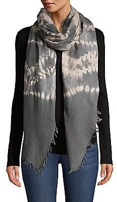 Bajra Women's Tie-Dyed Felted Wool & Silk Scarf