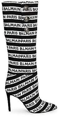 Balmain Women's Jane Logo Knee High Boots