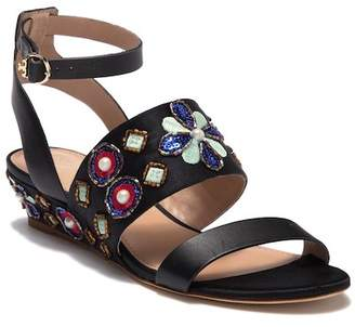 Tory Burch Estella Leather Wedge Sandal