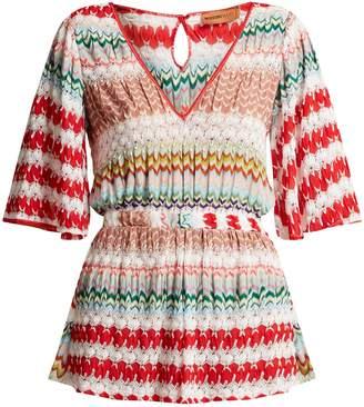 Missoni MARE Crochet-knit playsuit