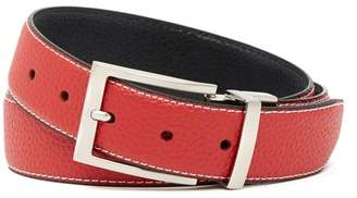 Duchamp Reversible Pebble Grain Leather Belt