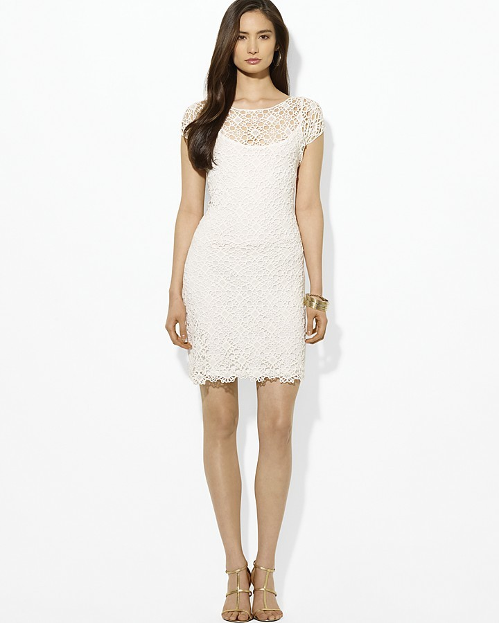 Lauren Ralph Lauren Allover Lace Dress