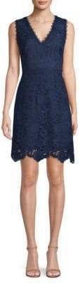 Laundry by Shelli Segal Lace Fit-And-Flare Dress