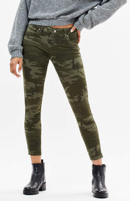 Levi's 711 Camouflage Skinny Jeans