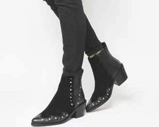 Office Ashes Studded Chelsea Boots
