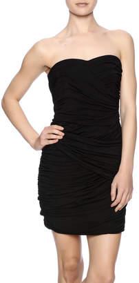 Blaque Label Black Strapless Dress