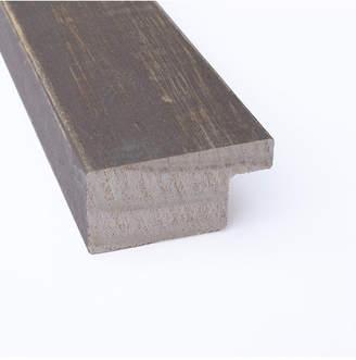 Amanti Art Whiskey Brown Rustic 26x18 Framed Black Cork Board