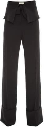 Framed Belts palazzo pants