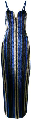 Alice McCall One World striped gown