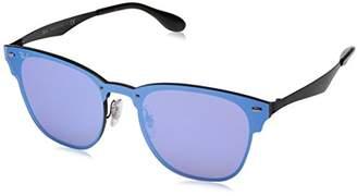 Ray-Ban The Blaze Non-Polarized Iridium Square Sunglasses