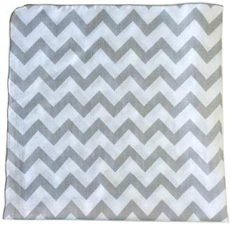 "Satsuma Designs Muslin Swaddling Blanket, Grey, 40"" square, Polybagged"