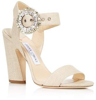 Jimmy Choo Women's Mischa 100 High-Heel Sandals