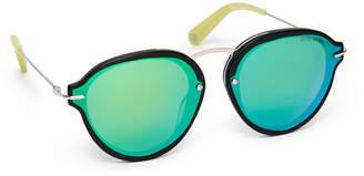 Henri Bendel Lily Round Sunglasses