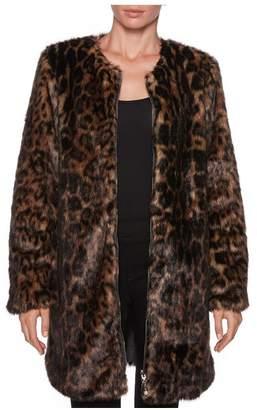 Magaschoni Long Sleeve Fur Coat