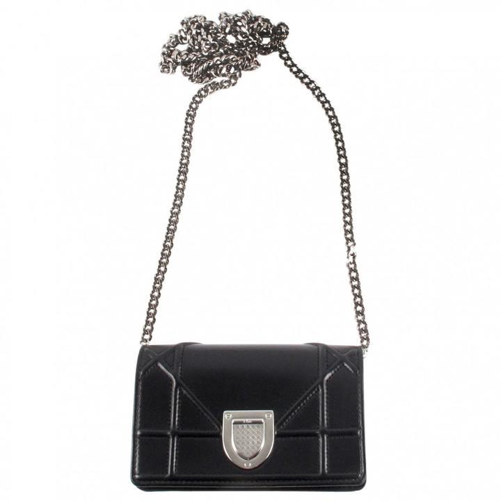 Diorama leather crossbody bag