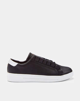 2d46bc1cdae1d Ted Baker ASTELLI Ruffle detail sneakers