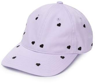 Undercover embroidered heart cap