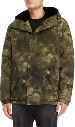 Marcelo Burlon County of Milan Tecks Hooded Down Parka