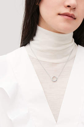 Cos STERLING SILVER CHAIN NECKLACE