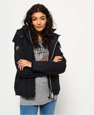 Superdry Hooded Fur Sherpa SD-Wind Attacker Jacket