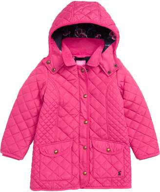 Joules Quilted Hooded Jacket