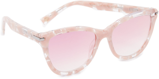 Marc Jacobs Cat Eye Sunglasses $155 thestylecure.com