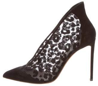 Francesco Russo Suede Pointed-Toe Booties