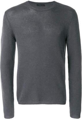 Prada cashmere classic crew neck sweater