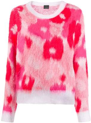 Pinko patterned knit jumper