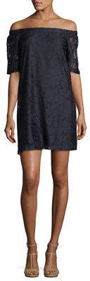 Donna Morgan Off-the-Shoulder Lace Dress