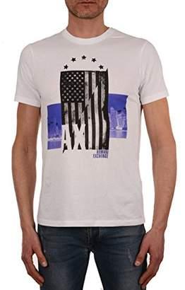 Armani Exchange A|X Men's American Flag Graphic Logo tee
