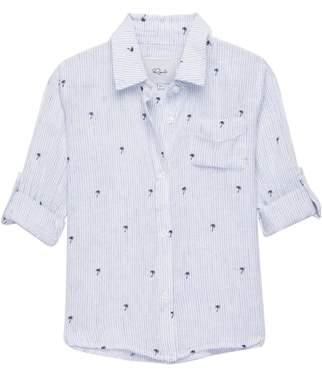 Rails Cora Palm Stripe Shirt