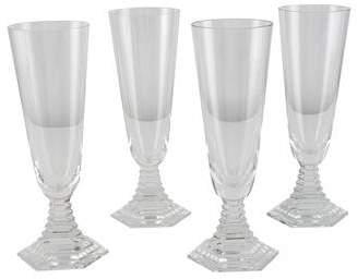 Baccarat Set of 4 Orsay Champagne Flutes