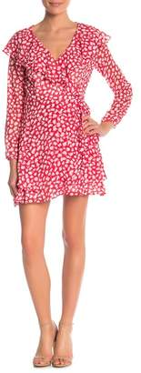 Free People Ruffle Dot Mini Dress