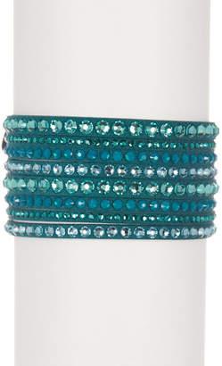 Swarovski Slake Crystal Deluxe Bracelet $69 thestylecure.com