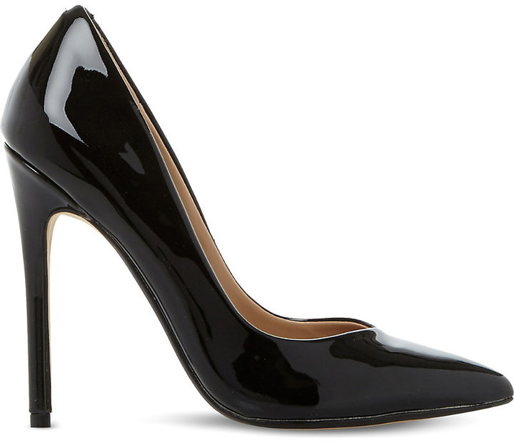 Steve Madden Wicket patent court shoes