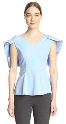Gracia Draped Frill Blouse