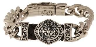 Jean Claude Rolo Chain Swirl Bracelet