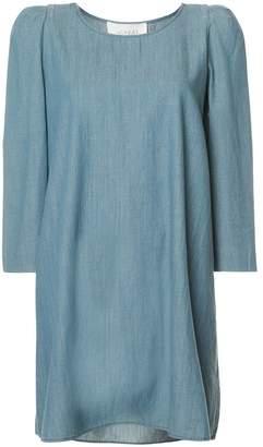 The Great denim shift dress