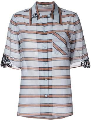 Fendi striped blouse
