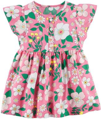 Carter's Baby Girl Henley Floral Dress
