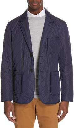 Burberry Clifton Quilted Blazer
